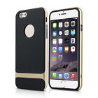 Neo Hybrid Gold Hard Bumper Soft Rubber Case Cover Skin for Apple iPhone 6 4.7