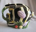Figural Fish Pitcher Sakura China Coral Reef Pattern Claire Murray Design