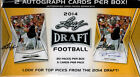3 BLASTER BOX LOT 2014 LEAF DRAFT FOOTBALL 2 AUTOS PER BECKHAM?