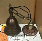 Vintage Industrial Pendant Light Antique School House Globe Fixture Hubbell