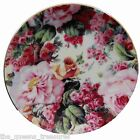 The Queen's Treasures ENGLISH ROSE FINE CHINA CHILDRENS TEA PARTY CUPCAKE PLATES