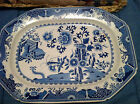 Antique Spode Stone China Large Platter Grasshopper pattern 1815-1830