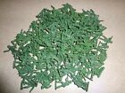 Lot of 144 Green Plastic Mini Army Men 1