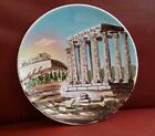 Vintage Hand Made In Athens Greece Raised Parthenon 11.5