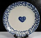 Tienshan China Hearts Pattern Dinner Plate