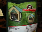 DOG TENT MEDIUM SIZE FOR DOGS UP TO 60 LBS- LUCKY DOG DAWG-E-TENT WITH CASE NEW