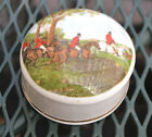 Sheriden Staffordshire Finest English Bone China Horse Scene Trinket Box