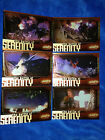 INKWORKS FIREFLY THE BATTLE OF SERENITY CHASE SET OF 6 CARDS #B1 TO B6