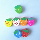 20pcs Mixed Wooden Strawberry Shaped Charm Beads 19x15mm Fit DIY Jewelry Making