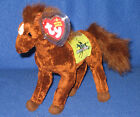 TY DERBY 132 the HORSE BEANIE BABY - MINT with MINT TAGS
