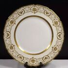 Royal Doulton China HB 9788/E 9960 Pattern Dinner Plate - Gold Encrusted