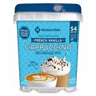 Daily Chef French Vanilla Cappuccino Coffee Instant Mix Powder 2 Jars x 3 = 6 lb