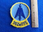 Vietnam Era 562nd Tactical Fighter Squadron SQ FS TFS Patch USAF Air Force