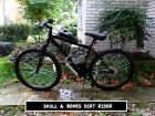 Motorized Bicycle 50cc Jolly Roger Dirt Rider ENGINE KIT IS ON BIKE