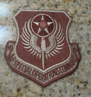USAF PATCH, AIR FORCE SPECIAL OPERATIONS COMMAND, DESERT