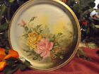 HAND PAINTED PLATE~PLATTER ~MADE IN VIENNA AUSTRIA