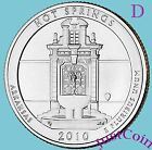 2010 D HOT SPRINGS NATIONAL PARK AR QUARTER UNCIRCULATED FROM US MINT