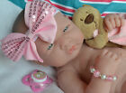 PJs  BERENGUER LA NEWBORN  BABY GIRL DOLL WITH EXTRAS FOR REBORN OR PLAY NEW
