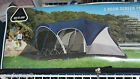 Greatland 3 Room Screen Porch Dome Tent 7 8 Person 16 X 15 X 66 Blue New