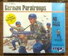Airfix MPC 1-6011 1/72 WWII German Paratroops box dated 1982 MIB sealed