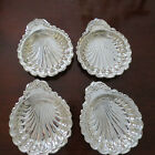 Very Nice Set of 4 Silver Plated Clam Shells – New