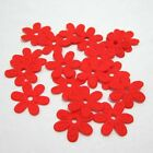 100PCS Padded Felt Spring Flower Appliques Craft DIY Wedding decoration A291
