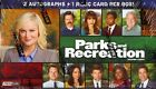 PARKS AND RECREATION SEASONS 1-4 - 12 BOX CASE (PRESS PASS) BLOWOU