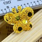 Free Shipping 50Pcs Padded Sequin Butterfly /Appliques/Craft/Wedding DIY B113