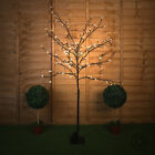 Large 150cm Decorative Indoor Outdoor Battery Operated LED Bonsai Tree Lamp IP44