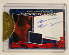 2012 The Amazing Spiderman Costume Autograph Combo Card Andrew Garfield