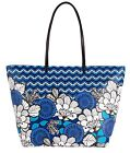 Vera Bradley Pattern Play Tote in Blue Bayou