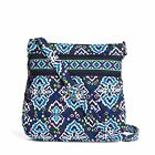 Vera Bradley Triple Zip Hipster Crossbody Bag in Ink Blue