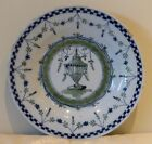 Antique English Delft Plate Circa 1750 - Extremely Rare and Hard to Find!