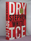 1st signed by the author Alan Gregory Dry Ice by Stephen White 2007