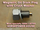 12mm MAGNETIC OIL DRAIN PLUG BOLT YAMAHA YP400 CP250 XT250 RAPTOR 250 MAJESTY ++