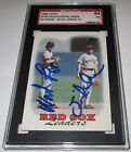 1988 Topps Wade Boggs & Spike Owen Signed SGC Auth Auto 10 Card 84 NM 7 Red Sox