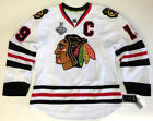 JONATHAN TOEWS CHICAGO BLACKHAWKS 2015 STANLEY CUP REEBOK EDGE AUTHENTIC JERSEY