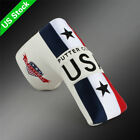Magnetic USA Golf Putter Cover For Taylormade Odyssey Mizuno Scotty Cameron Ping