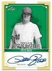 2012 Leaf Best of Baseball Preview Autograph #1 PETE ROSE On-Card Auto A1168