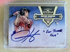 2012 Topps Five Star Bryce Harper Quotable Autograph EAT THEIR FACE Rookie 2 10