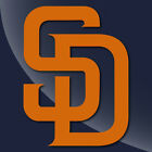 San Diego padres Single Color Decal Sticker TONS OF OPTIONS