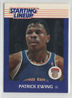 1988 Kenner Starting Lineup Cards #23 Patrick Ewing New York Knicks NrMt