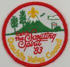 Ouachita Valley Council 1983 Catch The Scouting Spirit [H2716]