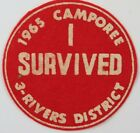 3-Rivers District 1965 Camporee, I Survived [H3797]