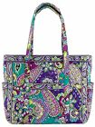 Vera Bradley Get Carried Away Tote in Heather