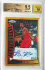 2008-09 Derrick Rose Topps Chrome Youthquake Auto Gold refractors BGS 9.5 pop1