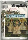 9458 Vintage Simplicity Sewing Pattern Girls Dress Pinafore Daisy Kingdom OOP