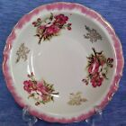 Cherry Blossom Bowl Royal Crown Fine China White, Pink & Gold Floral 4090 Japan