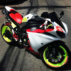 Yamaha : YZF-R 2009 yamaha r 1 carbon fiber yoshimura exhaust fairings clean title powder coat