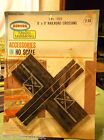 MOC AURORA MoDEL MoToRING Road & Rail Crossing Track for T Jet Slot Car Race Set